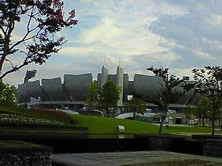 長野オリンピックの開会式・閉会式場!